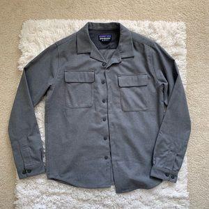 NWOT Patagonia Men's Wool Grey Field Shirt Medium